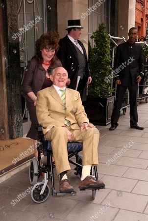 Editorial photo of EastEnders actor John Bardon making his first public appearance since his stroke at the Life After Stroke awards, Claridges, London, Britain - 25 Jun 2008