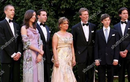 Editorial picture of Silver Wedding of Grand Duke and Grande Duchess of Luxembourg - Jul 2006