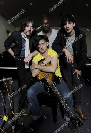 Dirty Pretty Things - Didz Hammond, Carl Barat, Gary Powell, and Anthony Rossomando