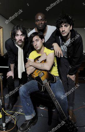 Dirty Pretty Things - Didz Hammond, Carl Barat, Gary Powell, and Anthony Rossomando