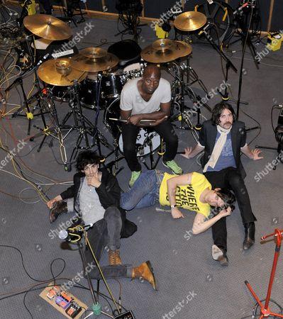 Dirty Pretty Things - Anthony Rossomando, Gary Powell, Carl Barat and Didz Hammond