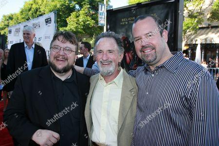 Guillermo del Toro, Lawrence Gordon & Uni's Marc Shmuger