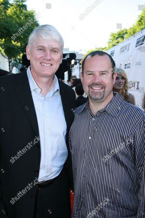 Producer Mike Richardson and Universal Picture's Marc Shmuger