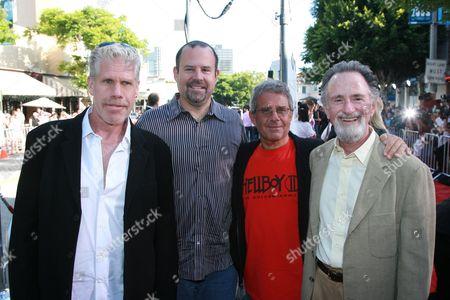 Ron Perlman, Marc Shmuger, Lawrence Gordon & Ron Meyer