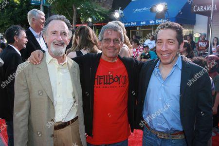 Producer's Lawrence Gordon & Lloyd Levin flank Uni's Ron Meyer
