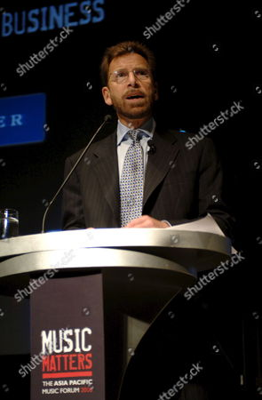 Chairman and Ceo of Warner Music Edgar Bronfman Jr Addressing Delegates at Music Matters Asia's First Music Industry Conference in Hong Kong Wednesday 10 May 2006 Bronfman Last Week Rejected a Us$4 2billion (3 2 Billion Euros) Hostile Takeover Bid by Emi in the Latest Incident in a Months Long Battle For Dominance Between the Global Music Industry Giants