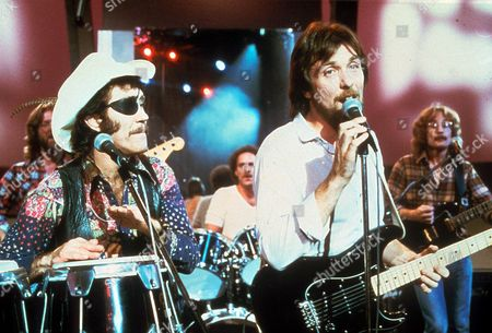 Stock Picture of Dr Hook - Ray Sawyer and Dennis Locorriere