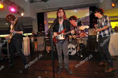 Dirty Pretty Things - Didz Hammond, Carl Barat and Anthony Rossomando
