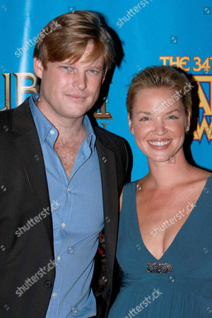 Stock Picture of Brad Beyer and Ashley Scott