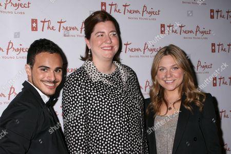 Adamo Ruggiero, Sarah Tomassi Lindman, Lauren Collins