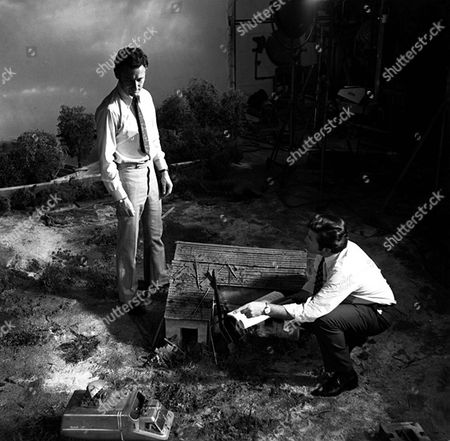 Stock Image of 'UFO'   TV  Behind the Scenes Derek Meddings, Visual Effects Supervisor [L]