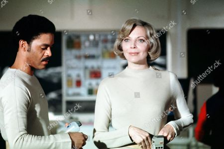 'Space: 1999'   Film Barbara Bain and Anton Phillips
