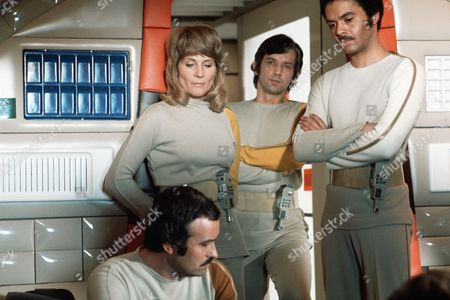 'Space: 1999'   Film A general scene with Anton Phillips (right)
