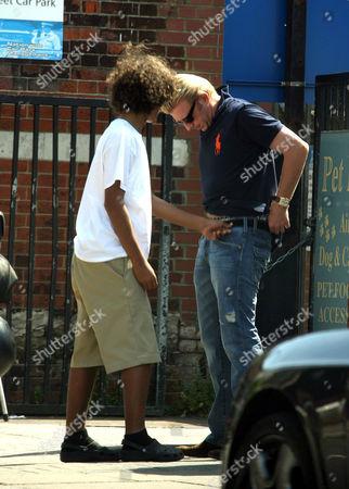 Boris Becker with son Noah Gabriel