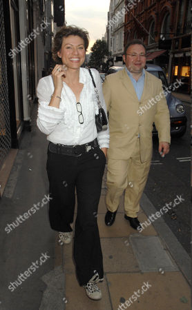 Editorial image of Simon Sebag Montefiore book launch party. Asprey, London, Britain  - 01 Jul 2008