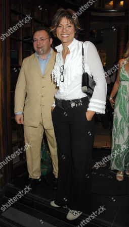Editorial photo of Simon Sebag Montefiore book launch party. Asprey, London, Britain  - 01 Jul 2008