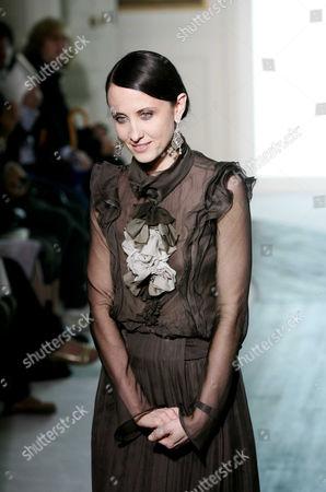 Fashion Designer Alessandra Facchinetti