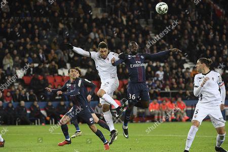 Editorial image of PSG vs Metz, French League Cup Quarter Final football match, Princes stadium, Paris, France - 11 Jan 2017