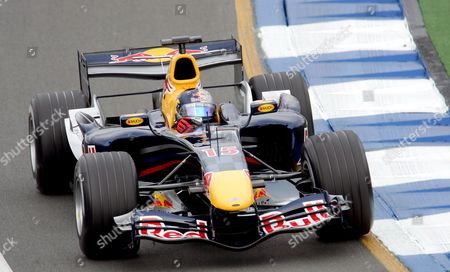Austrian Formula One Driver Christian Klein For Red Bull Racing Team in Action During the Training Session at the Albert Park Street Circuit in Melbourne Australia Friday 31 March 2006 the Australian Formula One Grand Prix Takes Place Here On Sunday 02 April