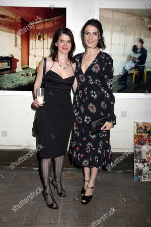 Minnie Weisz and Rachel Weisz