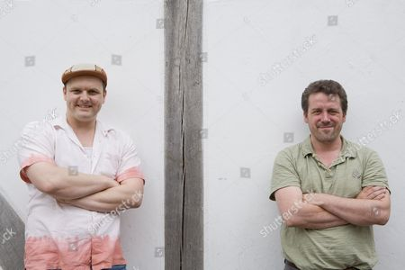 Che Walker with Dominic Dromgoole, Artistic Director of Shakespeare's Globe Theatre and Che Walker
