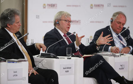 David Lipton, Kevin Michael Rudd and Paul Polman (Chief Executive Office of Unilever)