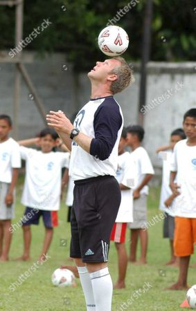 Editorial image of Indonesia Aceh Soccer - Jun 2005