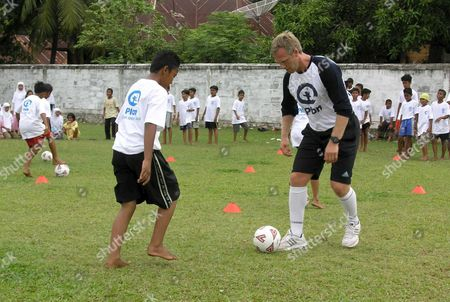 Editorial picture of Indonesia Aceh Soccer - Jun 2005