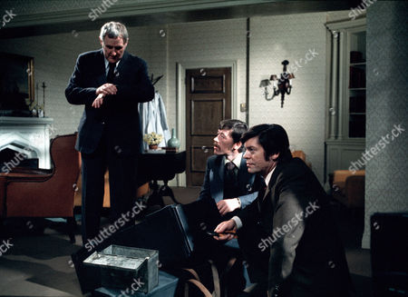 'Thriller' - Episode 9: 'The Eyes Have It' - Peter Vaughan, Leslie Schofield and William Marlowe