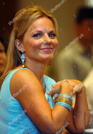 British Singer Geri Halliwell Attends a Function Organized by the United Nations Population Fund (unfpa) in Kathmandu Nepal 09 September 2009 Halliwell a Goodwill Ambassador of the Unfpa is in Nepal For a Four Days Visit to Highlight the Consequences of Maternal Death and Injuries Such As Uterine Prolapsed in the Country
