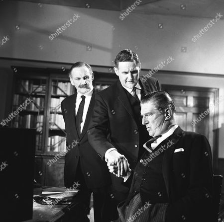 'Espionage'  - 'Once a Spy' -  Howard Marion-Crawford and Peter Vaughan and Basil Dignam