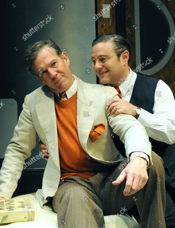 'Moonlight and Magnolias' - Steven Pacey (Victor Fleming) and Andy Nyman (David O Selznick)