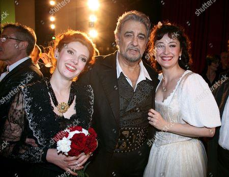 Patricia Petibon, Placido Domingo and Maria Jose Montiel