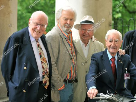 Stock Image of Frank Williams, Ian Lavender, Clive Dunn and Bill Pertwee