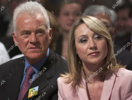 Belinda Stronach (r) Former President and Ceo of Magna International and Father Frank Watch As the Votes Are Counted in the Conservative Party of Canada's Leadership Race in Toronto Canada On Saturday 20 March 2004 Belinda Stronach One of Three Candidates Lost Her Bid to Become Party Leader Losing to Stephen Harper in January 2004 Belinda Stronach Stepped Down From Magna International and Entered Canadian Federal Politics