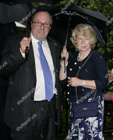 Michael Ancram with wife