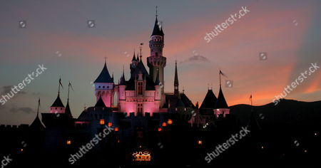 A Night View of Sleeping Beauty's Castle at Hong Kong Disneyland Monday 12 September 2005 Monday's Grand Opening Ceremony Included Dignitaries From Hong Kong China and the Walt Disney Company Including Michael D Eisner Walt Disney Company Ceo; Robert a Iger Walt Disney Company President Chief Operating Officer and Ceo-elect; Zeng Qinghong Vice-president of the People's Republic of China; and Donald Tsang Chief Executive of the Government of the Hong Kong Special Administrative Region