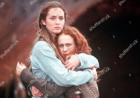 'Boudicca' - Isolda (Emily Blunt) and Siorra (Leanne Rowe)
