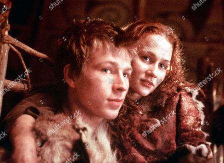 'Boudicca' - Connach (Ben Faulks) and Siora (Leanne Rowe)