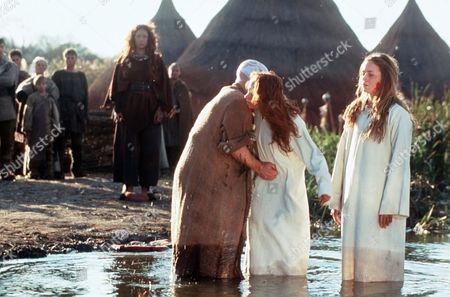 'Boudicca' - Boudicca (Alex Kingston), Magior (Gary Lewis), Siorra (Leanne Rowe) and Isolda (Emily Blunt)