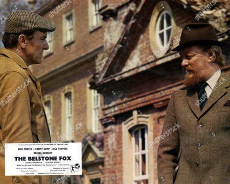 'The Belstone Fox'   Film - Eric Porter and  Jeremy Kemp