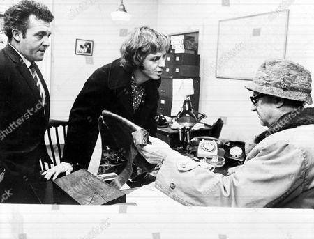 'Death Line'   Film - Norman Rossington, David Ladd and Donald Pleasance