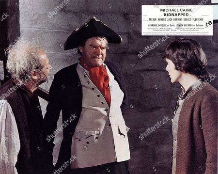 'Kidnapped'  -  Donald Pleasance, Jack Hawkins and Lawrence Douglas