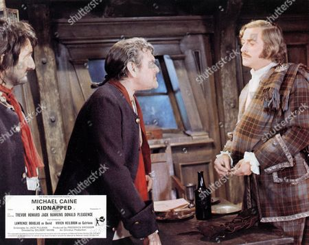 'Kidnapped' -  Peter Jeffrey, Jack Hawkins and Michael Caine
