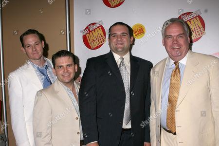 Jimmy Ray Bennett, Robert Creighton, Jimmy Smagula and Michael Mulheren