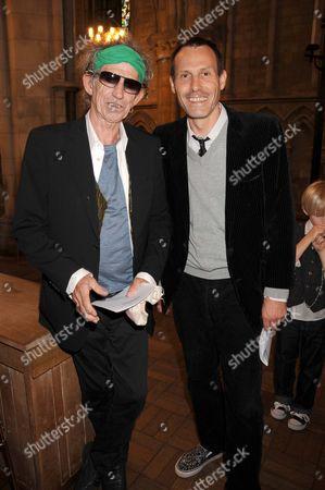 Keith Richards and Marlon Richards