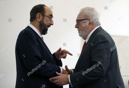 Pedro Agramunt Font de Mora and Ignacio Garcia-Valdecasas