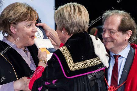 Editorial photo of Germany Merkel, Brussels, Belgium - 12 Jan 2017
