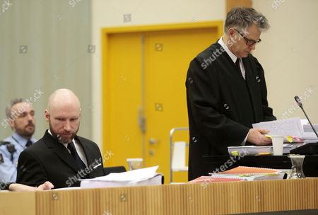 Anders Behring Breivik and Oystein Storrvik