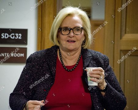 United States Senator Claire McCaskill (Democrat of Missouri) arrives for the United States Senate Committee on Armed Services confirmation hearing on the nomination of US Marine Corps General James N. Mattis (retired) to be Secretary of Defense on Capitol Hill in Washington, DC.